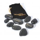 Albi Masážní kameny Relaxační 9 kusů
