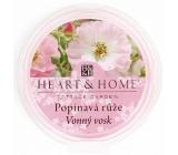 Heart & Home Popínavá ruža prírodný voňavý vosk 27 g
