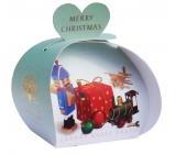English Soap Veselé Vianoce Hračky mydlo parfumované s bambuckým maslom 3 x 20 g