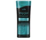 Joanna Charcoal 2v1 detoxikačné micelárna šampón na vlasy a kondicionér s aktívnym uhlím 200 ml
