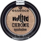 Essence Melted Chrome Eyeshadow očné tiene 08 Golden Crown 2 g