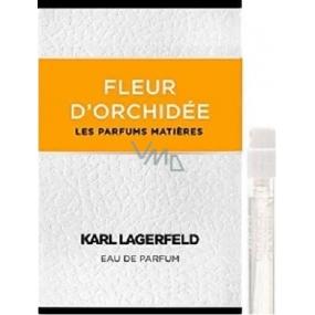 Karl Lagerfeld Fleur d Orchidee parfémovaná voda pro ženy 1,2 ml s rozprašovačem, Vialka