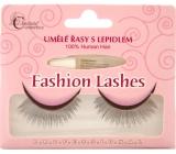 Absolute Cosmetics Fashion Lashes Umělé nalepovací řasy středně dlouhé obloučkové černé s lepidlem 507 černé 1 pár