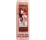 Bohemia Gifts & Cosmetics Alfons Mucha Ruže toaletné mydlo 125 g