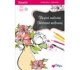 Ditipo Trblietavé maľovanky Váza 21 x 30 cm