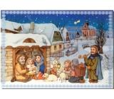 Albi Hracie prianie do obálky Betlehem Veselé vianočné hody Boni Pueri 14,8 x 21 cm