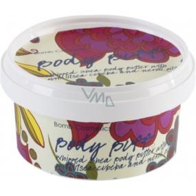 Bomb Cosmetics Zamatový ročník - Vintage Velvet Prírodné telové maslo ručne vyrobené 160 ml