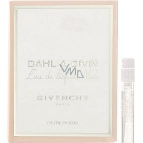 DÁREK Givenchy Dahlia Divin Eau de Parfum Nude parfémovaná voda pro ženy 1 ml s rozprašovačem, Vialka