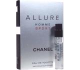 Chanel Allure Homme Sport EdT 1,5 ml pánska toaletná voda s rozprašovačom vialka