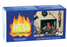 Hexa Tuhý podpaľovač, tuhý lieh, kocky, 200 g