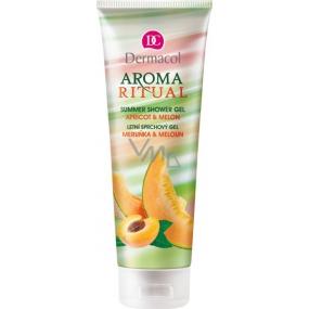 Dermacol Aroma Ritual Meruňka a meloun sprchový gel 250 ml