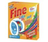 Well Done Fine Color Magnet Summer Breeze ubrousky pohlcující barvu s vůní, vhodné i do sušičky prádla 12 kusů