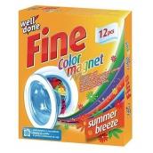Well Done Fine Color Magnet Summer Breeze obrúsky do prania pohlcujúce farbu s vôňou, vhodné aj do sušičky bielizne 12 kusov
