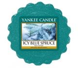 Yankee Candle Icy Blue Spruce - Zľadovatený modrý smrek vonný vosk do aromalampy 22 g