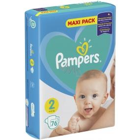 PAMPERS Maxi Pack 2 4-8kg 76ks 0574