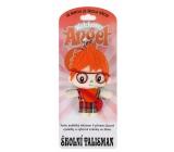 Albi Anjelik strážníček - Školské talizman prívesok 8,5 cm