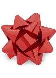 Nekupto Hviezdica strednej metal červená 6,5 cm HX 127 30