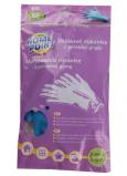 Home Point Rukavice gumové semišování upratovacie z prírodnej gumy 10 / XL