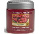 Yankee Candle Black Cherry - Zrelé čerešne Spheres voňavé perly neutralizujú pachy a osvieži malé priestory 170 g