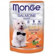 Monge Dog Grill lososová kapsička 100 g