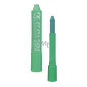 Amos Face Deco Barva na obličej v tubě zelená se rtěnkovým uzávěrem 4,7 g