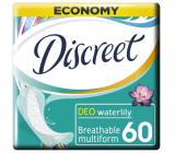Discreet Deo Waterlily slipové intímne vložky pre každodenné použitie 60 kusov