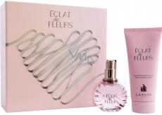 Lanvin Eclat de Fleurs toaletná voda pre ženy 50 ml + telové mlieko 100 ml, darčeková sada