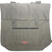 Hugo Boss Messenger Bag batoh - taška šedá veľká 39 x 37 x 16 cm