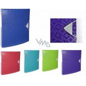 Exacopmta OFFIX Krúžkový zakladač, chrbát 3 cm, A4 PP, 1 kus, mix 5 farieb