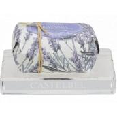 Castelbel krištáľovo priehľadná mydelnička 12,5 x 8,5 cm