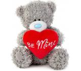 Me To You Medvedík plyšový so srdiečkom a nápisom Be Mine 10,5 cm