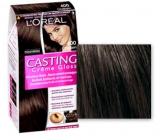 Loreal Paris Casting Creme Gloss Farba na vlasy 400 tmavý gaštan