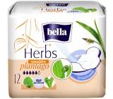 Bella Herbs Plantago Sensitive intímne aromatizované vložky s krídelkami 12 kusov