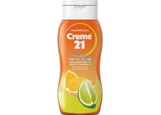 Creme 21 Orange & Lime sprchový gel 75 ml