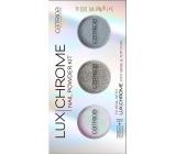 Catrice LuxChrome Nail Powder Kit set pigmentů na nehty 01 Effect Overlaod 3 x 1 g