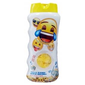 Emoji sprchový gél + hubka na umývanie pre deti 450 ml