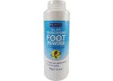 Beauty Formulas All Day Deodorising Foot Powder zásyp na nohy 100 g