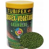 Tubifex Vegetable Granulat základné rastlinné krmivo pre bylinožravé ryby, ktoré zdržiavajú pri dne akvária 125 ml