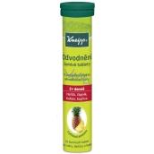 Kneipp Šumivé tablety na odvodnenie, osviežujúci nápoj s ananásovou chuťou 20 tabliet