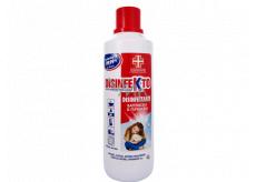 DISINFEKTO Dezinfekcia proti baktériám a plesniam tekutý dezinfekčný a čistiaci prostriedok so sviežou vôňou 1 l