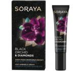 Soraya Black Orchid Čierna orchidea + Diamantový prášok očný krém proti vráskam 15 ml
