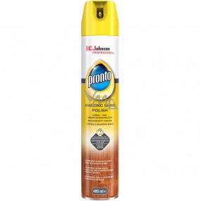Pronto Amazing Shine Polish sprej proti prachu, leštenka na drevo 400 ml