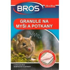 Bros Granule na myši a potkany 10 x 25 g