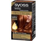 Syoss Oleo Intense Color farba na vlasy bez amoniaku 6-76 Teplý medený