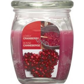 Bolsius Aromatic Lovely Cranberry - Krásna brusnica vonná sviečka v skle 92 x 120 mm 830 g, doba horenia 100 hodín