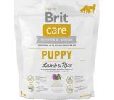 Brit Care Junior Jehněčí + rýže superprémiové krmivo pro štěňata, malá a střední plemena 1 kg