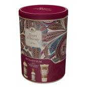 Tesoro d Oriente Byzantium toaletná voda 100 ml + sprchový krém 250 ml + kúpeľový pena 500 ml, darčeková sada