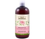 Green Pharmacy pižmový ruže a zelený čaj sprchový gél 500 ml