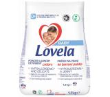 Lovela Baby Farebné prádlo Hypoalergénne, jemný prací prášok 13 dávok 1,3 kg