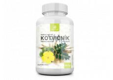 Allnature Kotvičník bylinný extrakt má veľmi dobrý vplyv na ľudské zdravie doplnok stravy 60 kapsúl